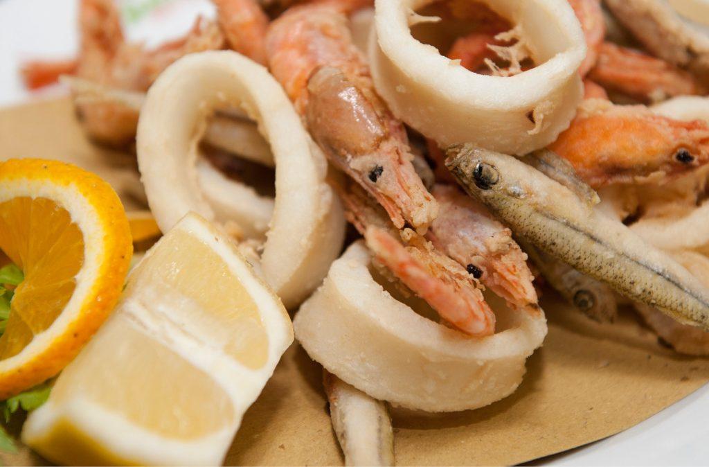 Le fritture di pesce